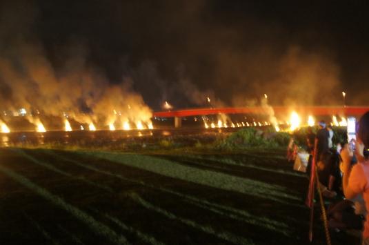 南部の火祭り 百八たい
