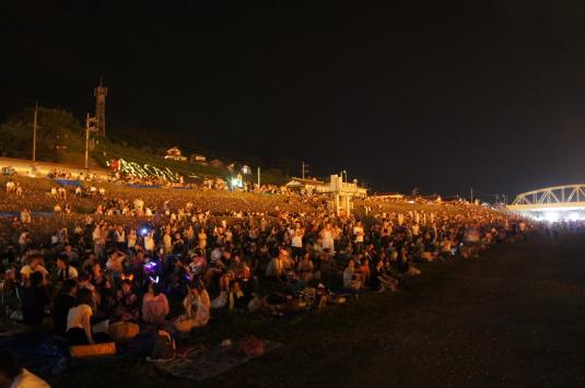 南部の火祭り 一般席