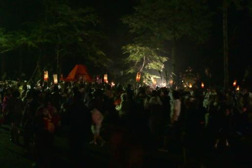 すすき祭り 着興祭