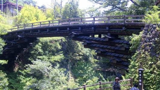 あじさい 猿橋 猿橋
