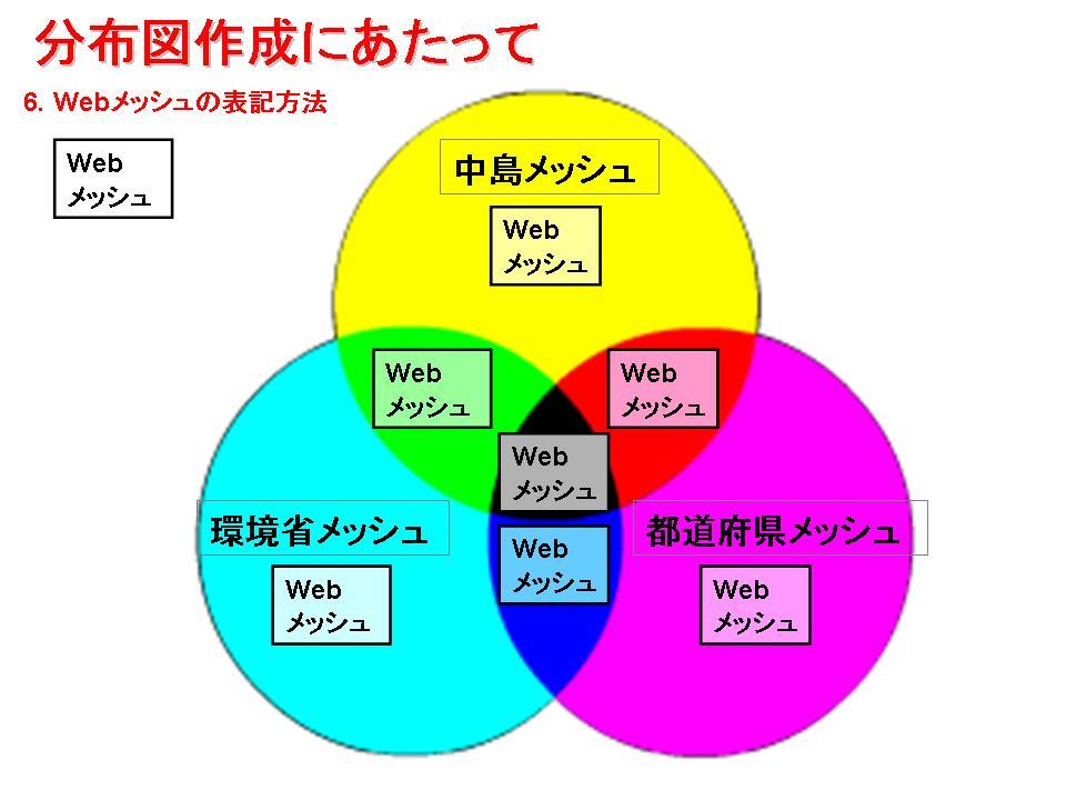 Webメッシュ表示色