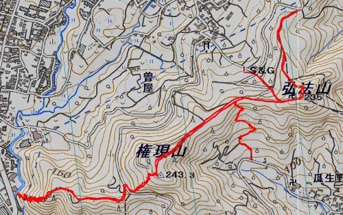 140921 弘法山