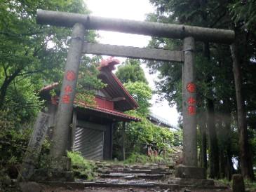 大山山頂前社20100620JPG