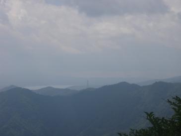 菰釣から富士山方面100912