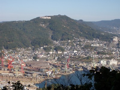 弓張岳101205