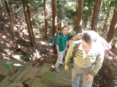 鐘ケ嶽登り101223
