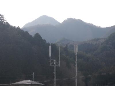 鶴ケ鳥屋山110129