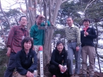 鍋嵐山頂記念110206