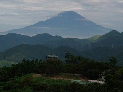 20120806菜の花台富士山