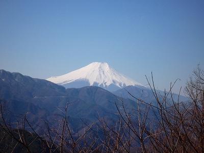 倉岳山から望む富士山