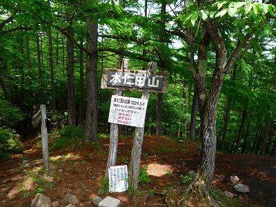 本仁田山山頂