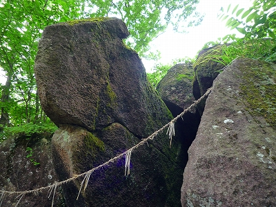 奇岩の一つ