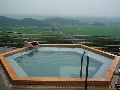 ホテル青木屋のパノラマ露天風呂「雲上の湯」