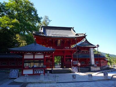 中禅寺湖東岸にある立木観音