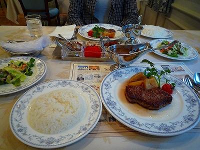 """函館の洋食の老舗""""五島軒""""にてランチ"""