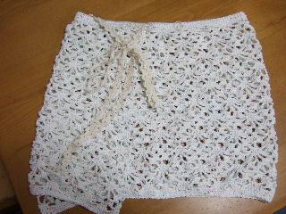 オーバースカート(白)