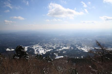 大神岩からの展望