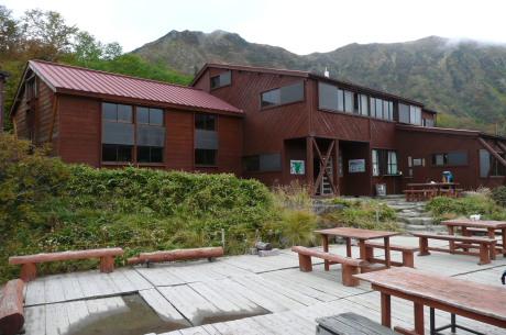鏡平山荘1