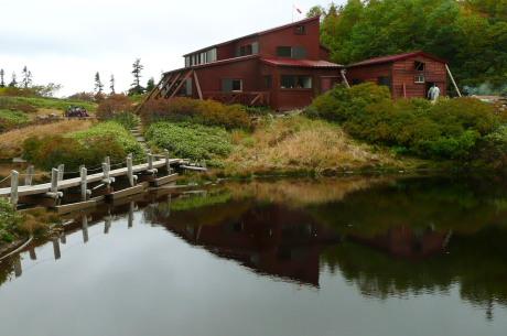 鏡平山荘3