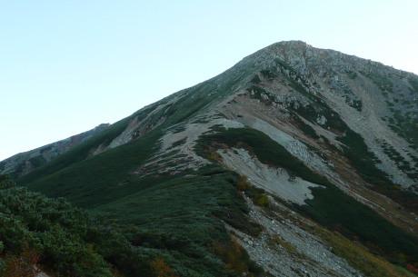 鷲羽岳登山道