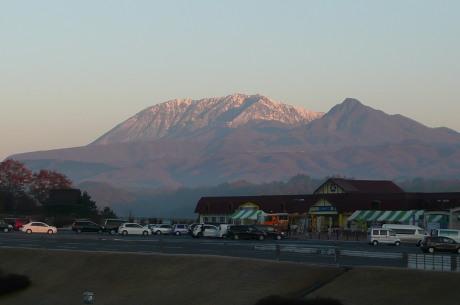 蒜山PAから見た大山