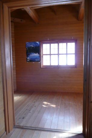 ユートピア避難小屋内部