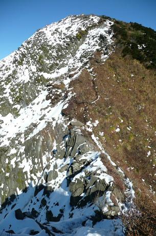 三鈷峰登山道