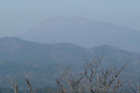 山頂からの大山