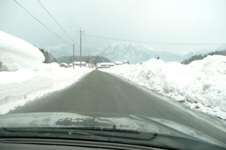 塩釜へのわき道