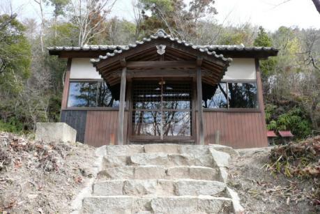 和気富士下の神社