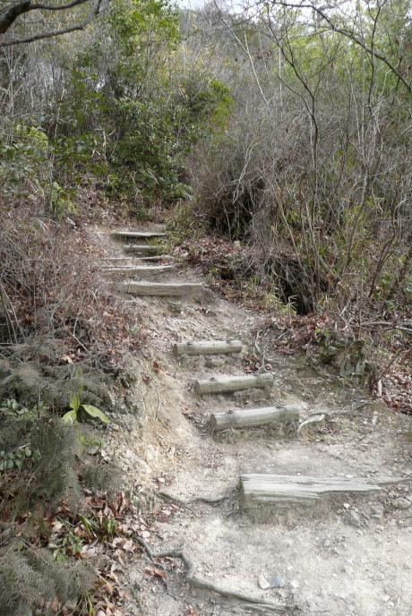 横木の階段
