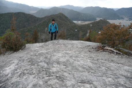穂高山山頂