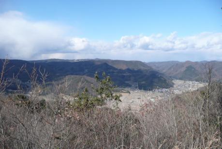 山頂からの北面展望