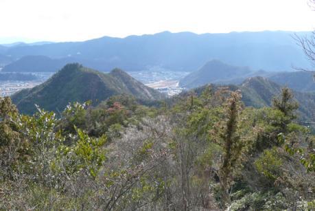 奥ノ峰下からの展望