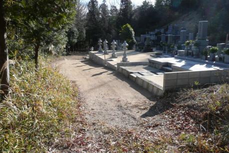 最初の墓地
