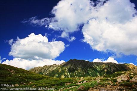 夏の雲ノ平03