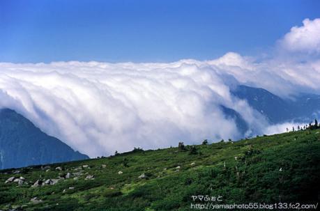 夏の雲ノ平12