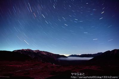 星景写真01_雲ノ平