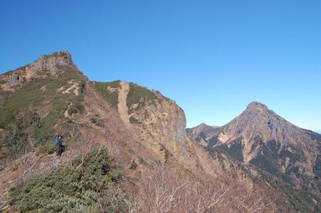 1権現岳へ21