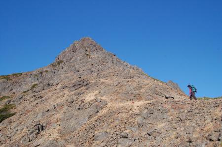 1赤岳へ40