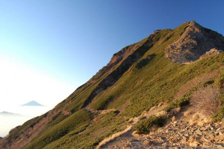 2富士山と赤岳4
