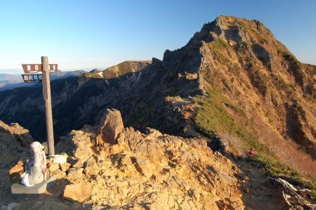 2横岳への尾根5
