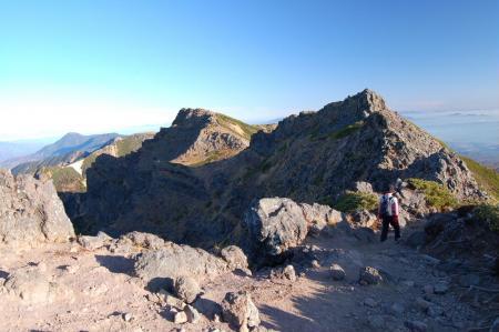 2横岳への尾根10