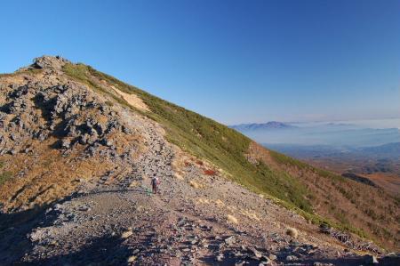 2横岳へ12