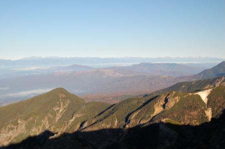 2横岳から北アルプス13