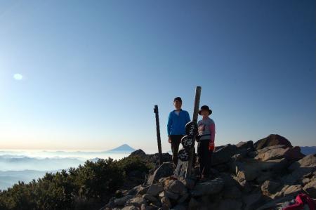 2横岳山頂14