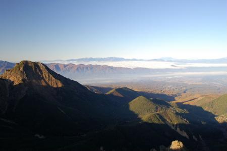 2横岳山頂から阿弥陀岳15