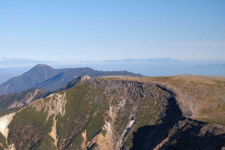 2横岳山頂から硫黄岳17