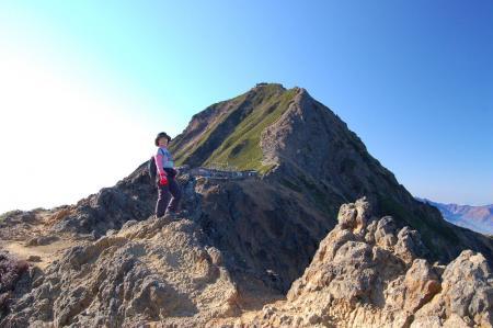2赤岳へ23
