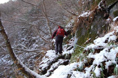 三階滝からの登り12